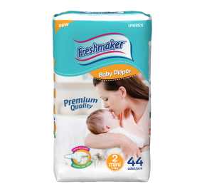Freshmaker Mini Bebek Bezi 44 adet