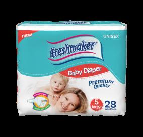 Freshmaker Junior Bebek Bezi 28 adet