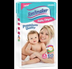 Freshmaker Maxi Bebek Bezi 60 adet