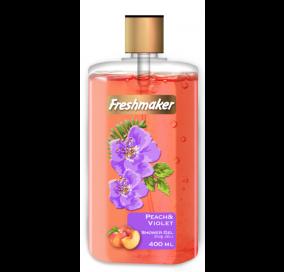 Freshmaker Sıvı Duş Jeli Şeftali ve Menekşe - 400 mL x 12li koli