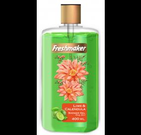 Freshmaker Sıvı Duş Jeli Misket Limonu ve Kalendula - 400 mL x 12li koli