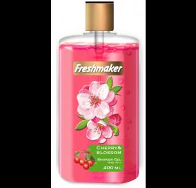 Freshmaker Sıvı Duş Jeli Vişne ve Vişne Çiçeği - 400 mL x 12li koli