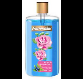 Freshmaker Sıvı Duş Jeli Yaban Mersini ve Gül - 400 mL x 12li koli
