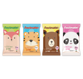 Freshmaker Kids Islak Cep Mendili 15 adet x 36lı koli